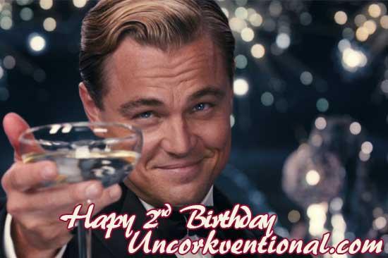 Buon compleanno Uncorkventional!