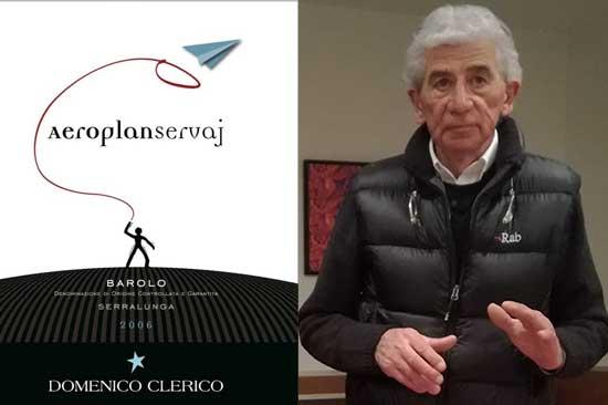 """Addio a Domenico Clerico, """"l'aeroplano selvatico"""" del Barolo è volato via."""